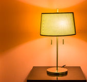 Bedside lamps Royalty Free Stock Photos