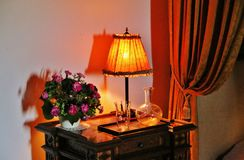 bedside table Royalty Free Stock Photography