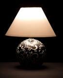 bedsidelampa Fotografering för Bildbyråer