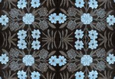 Bedspread z handmade Orientalną broderią Obrazy Stock