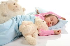 Bedtime Royalty Free Stock Photos
