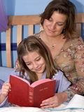 Bedtime Bible Story 2 Stock Photos