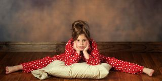 Bedtime Splits Stock Photography
