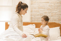Bedtime stories Stock Image