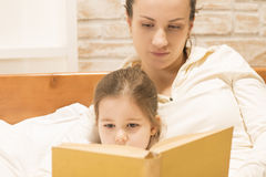 Bedtime stories Royalty Free Stock Images