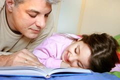 Bedtime story Royalty Free Stock Photos