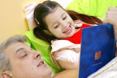 Bedtime story Stock Photography