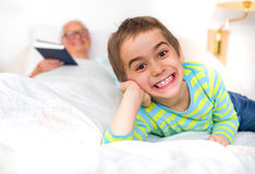 Bedtime tales Royalty Free Stock Image