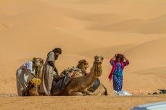Beduíno Foto de Stock