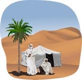 Beduínos Imagem de Stock Royalty Free