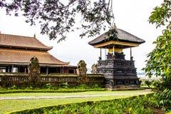 Bedugal temple , lake Braton Bali Indonesia Stock Photography