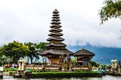 Bedugal temple , lake Braton Bali Indonesia Stock Photos