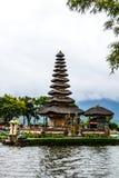 Bedugal temple , lake Braton Bali Indonesia Royalty Free Stock Images