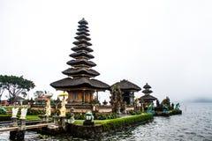 Bedugal temple , lake Braton Bali Indonesia Stock Images