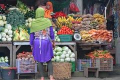 Рынок в Bedugul, Бали стоковые изображения