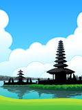 Bedugul Bali Background Royalty Free Stock Image