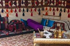 beduiński namiot obraz stock