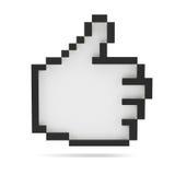 Beduimelt omhoog Rebecca 36 Pixelstijl Stock Fotografie