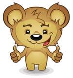 Beduimelt omhoog Teddybeer Royalty-vrije Stock Foto