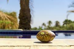 Beduin kamień na basenie Zdjęcie Stock