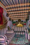 beduin projektuje namiot Obrazy Royalty Free