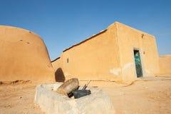 Beduin village. Yob Madi, Syria royalty free stock images