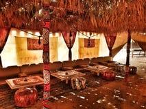 Beduina Sahara namiotowy deser Egipt zdjęcie stock