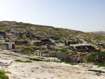 Beduinby royaltyfri bild