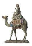 Beduine auf Kamel Lizenzfreie Stockfotografie