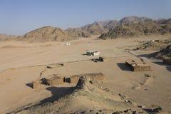 Beduine Dorf Stockfotografie