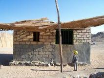 beduinhus Arkivbilder