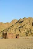 Beduinische Hütte Lizenzfreie Stockfotos