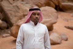 Beduinischer Mann, Porträt Stockfotos