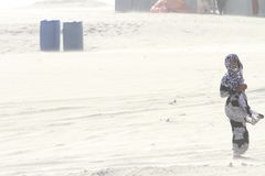 Beduinisches Mädchen Stockfotografie