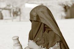 beduinkvinna Fotografering för Bildbyråer