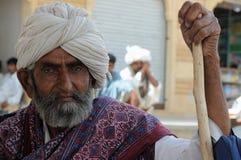 Beduins residents of the desert Stock Photo