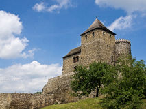 The Bedzin castle Stock Image