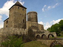 The Bedzin castle stock photos