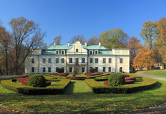 Bedzin, Poland. Silesia region. Neoclassical palace of Mieroszewski Family Royalty Free Stock Images