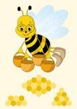 Bee. Stock Image