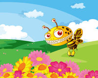 A bee Royalty Free Stock Photography
