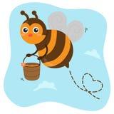 Bee royalty free illustration