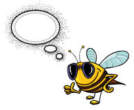 Bee-1000 Immagine Stock Libera da Diritti