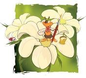 Bee the artist. Cartoon Stock Photography
