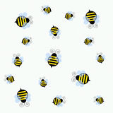 Bee busy bee vector illustration