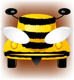 Bee-car Stock Image