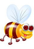 Bee cartoon Stock Photography