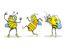 Bee Cartoon Character Stock Photography