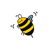 Bee cartoon Royalty Free Stock Photo