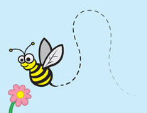 Bee Character Royalty Free Stock Photos